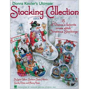Leisure Arts - Ultimate Stocking Collection, $12.00 (http://www.leisurearts.com/products/ultimate-stocking-collection.html)