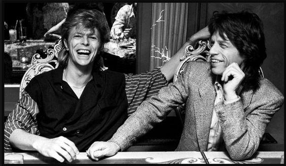 David Bowie & Mick Jagger