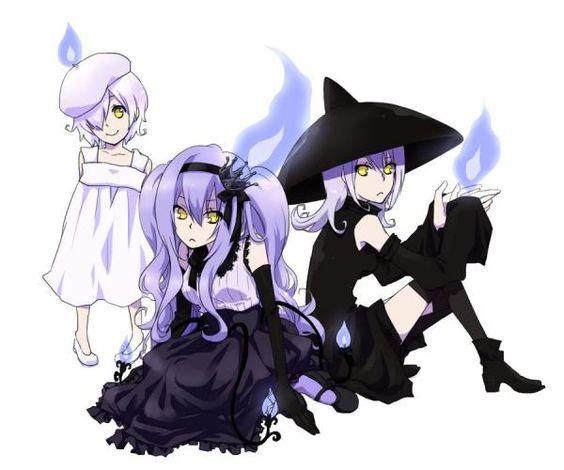 Litwick, Lampent, & Chandelure   Gijinka Pokémon ...