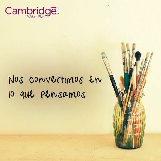 #pensamiento #positivo #cambridgeweightplan #cita