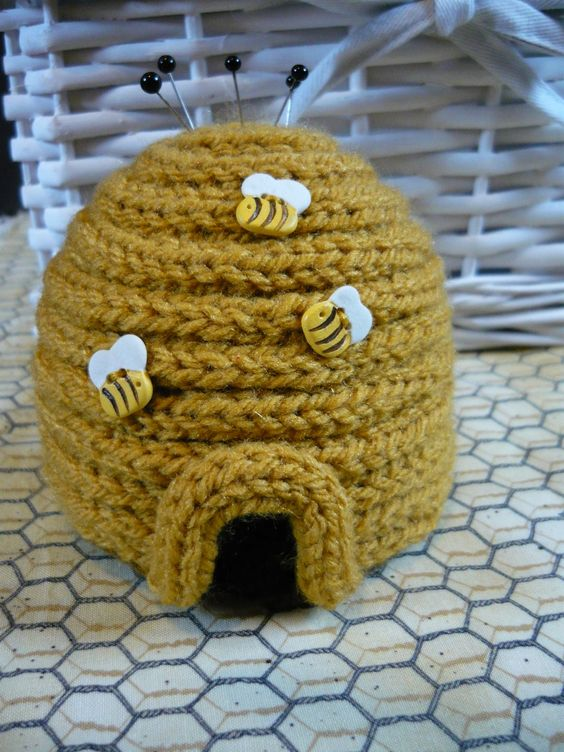 French knitting idea. That is sooo adorable! :):