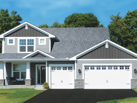 House Plans With Shaker Siding   Free Online Image House Plans    Charcoal Gray Houses With Vinyl Siding on house plans   shaker siding