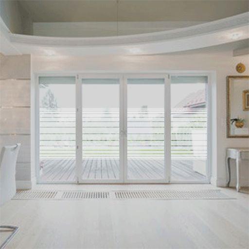 Bandas de vinilo transl cido ideales para superficies - Vinilos para ventanas ...