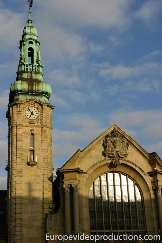 Estación de tren de la Ciudad de Luxemburgo