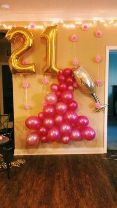 21st Birthday Decoration Ideas For Girls