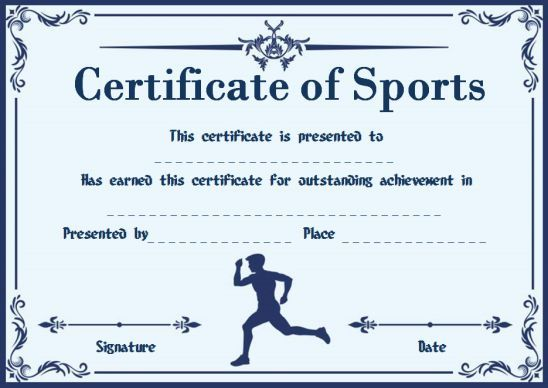 Most Likely To Award For Sports Recognition Programs Most Likely To Awards Award Certificates