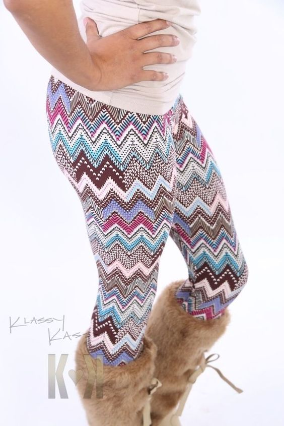 Whispering Secrets leggings ~ aztec tribal CUTE skinny NEW tight pants +YOUTUBE #KlassyKassy