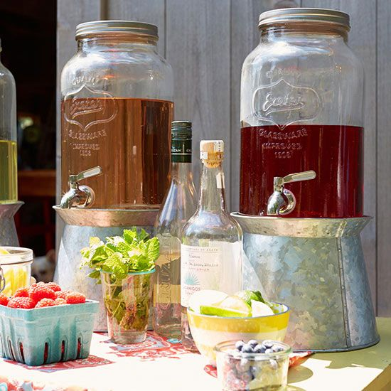 Homemade iced tea, Iced tea and Drink stations on Pinterest