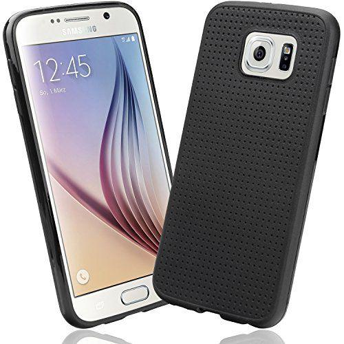 Samsung Galaxy S6 Case, EnGive Samsung Galaxy S6 Hülle Weich Tasche Case Schutzhülle Schwarz