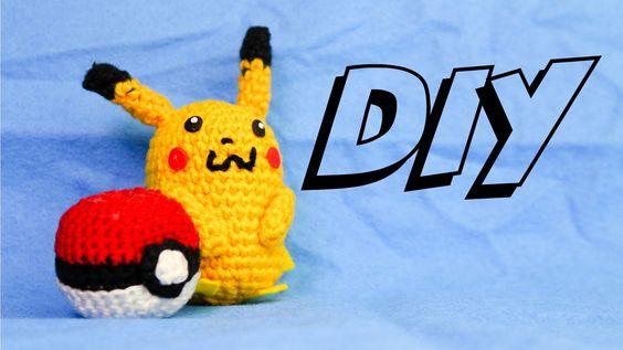 Pikachu Häkelanleitung Amigurumi *einfach* DIY