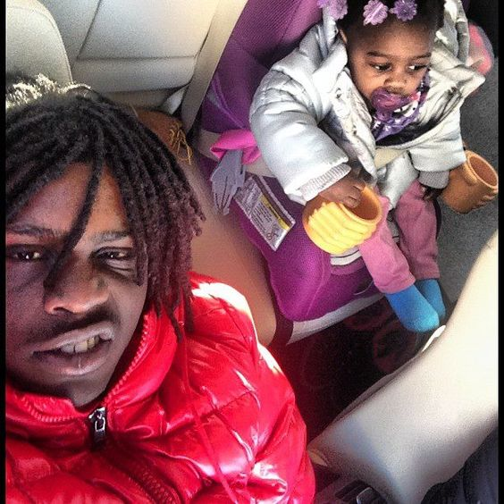 How Old Is Chief Keef Daughter   Chief+Keef+and+daughter+2013.jpg