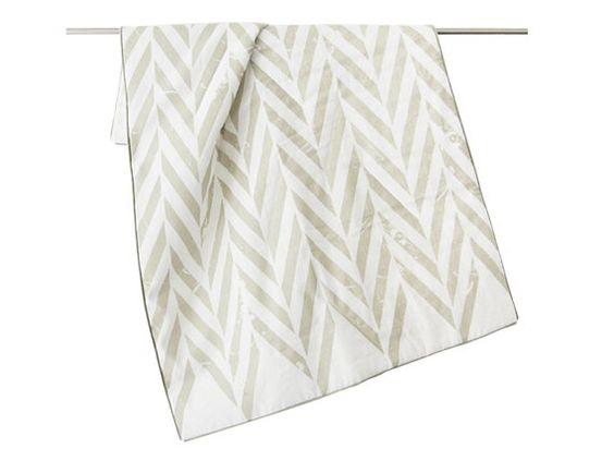 Trapunta coperta lino di bambino con cotone o lana, ovatta ZIGZAG stampato coperta per bambini di LHI