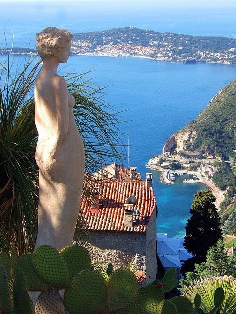 Cote d'Azur- France, town of Eze. Such an idyllic place to visit. The bus ride from Nice was so beautiful