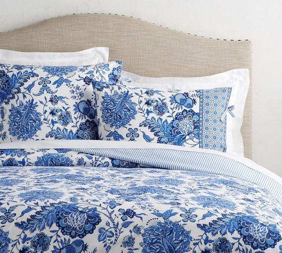 Marianna Reversible Duvet Cover Amp Sham Potterybarn Duvet Cover Master Bedroom Bed Linens Luxury Bed Linen Design