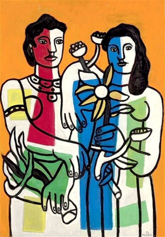 Fernand Léger - L'Anniversaire, 1953. #arte