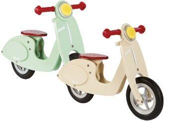 wondermooie scooter loopfiets Janod | kinderen-shop Kleine Zebra