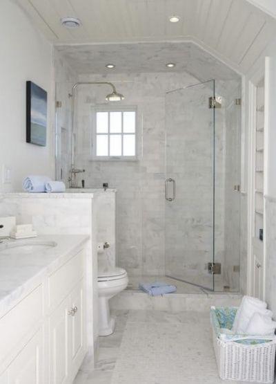 Small Master Bathroom Ideas Pinterest Small Master Bathroom Bathroom Remodel Master Small White Bathrooms