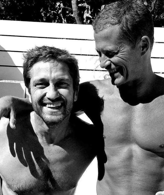 Til Schweiger and Gerard Butler German and American