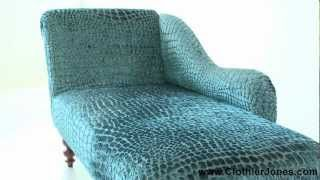Chaise lounge from Great Britain #chaise #chaise_longue #furniture #video