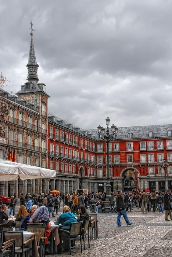 Plaza Mayor, Madrid (España) by Manuel Lancha