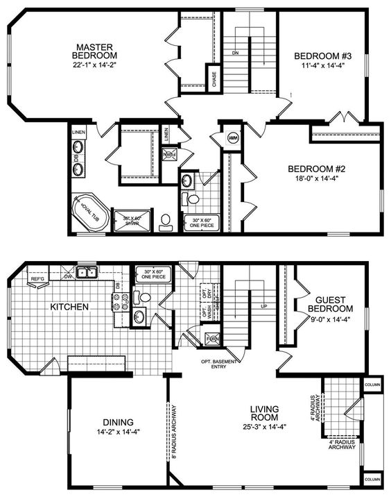 modular home floor plans 4 bedrooms | Modular Housing Construction -  Solstice Series Floor Plans | Floor plans and Room Ideas | Pinterest |  House, ...