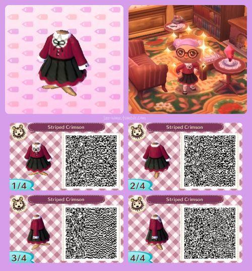 Tierquerung Kleid Qr Code In 2020 Animal Crossing 3ds Animal Crossing Qr Animal Crossing Frisuren