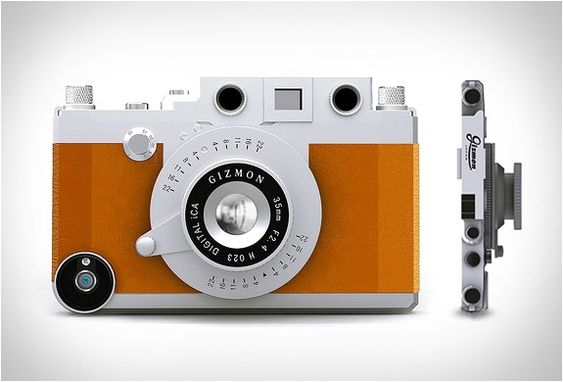 TURN YOUR IPHONE INTO A CLASSIC CAMERA
