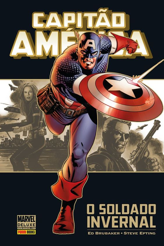 Capitão América - Soldado Invernal - Marvel Deluxe - MonsterBrain