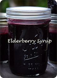 Elderberry Syrup for a Cold Onset