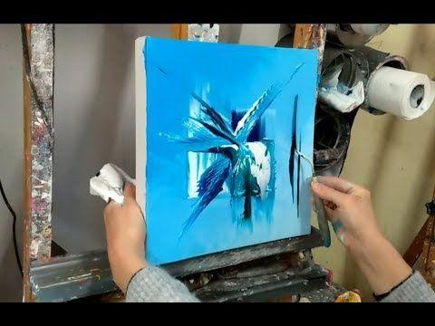 Epingle Sur Cours De Peinture Au Couteau Par Nelly Lestrade