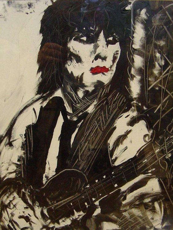 Ronald David 'Ronnie' Wood - 1 June 1947 ❥ Art by springbokgroove #RollingStones