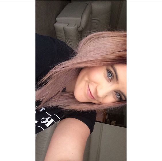 Love having a light, pastel pink hair.