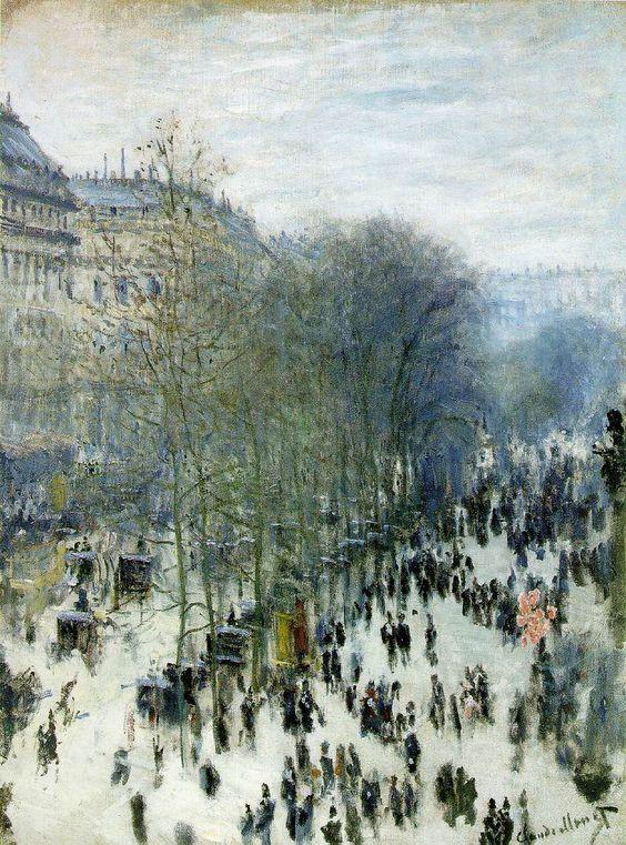 Claude Monet - The Boulevard des Capucines (1973)