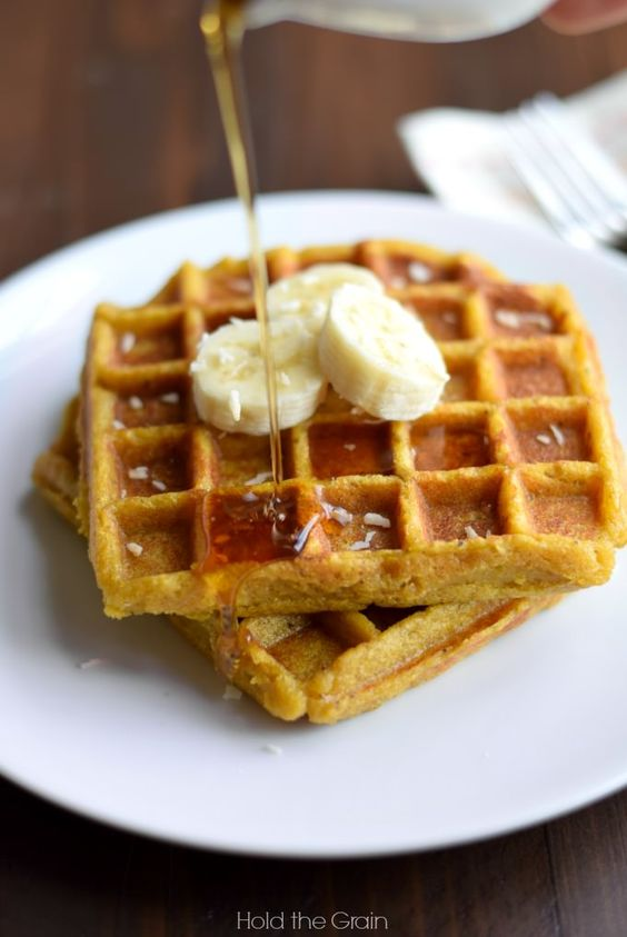 sweet plantains waffles2