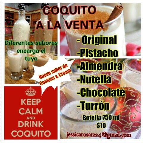 recetas de coquitos de diferentes sabores