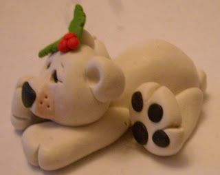 Fabulous Fimo by Natalie: Polar Bear Tutorial