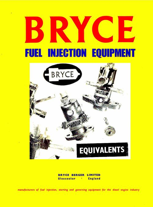 Bryce E Size Fuel Injection Pump Parts Manual In 2021 Fuel Injection Injections Diesel Mechanics