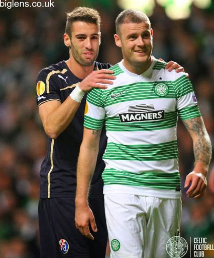 Celtic 1-0 GNK Dinamo Zagreb, 2nd October 2014 Anthony Stokes