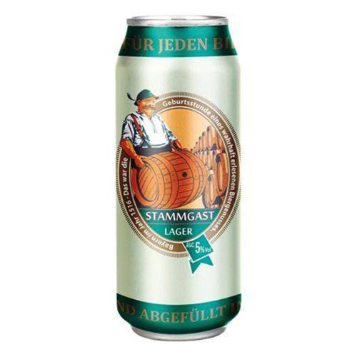 Bia Stammgast Lager 5% - Lon 500ml - Bia Đức Nhập Khẩu TPHCM