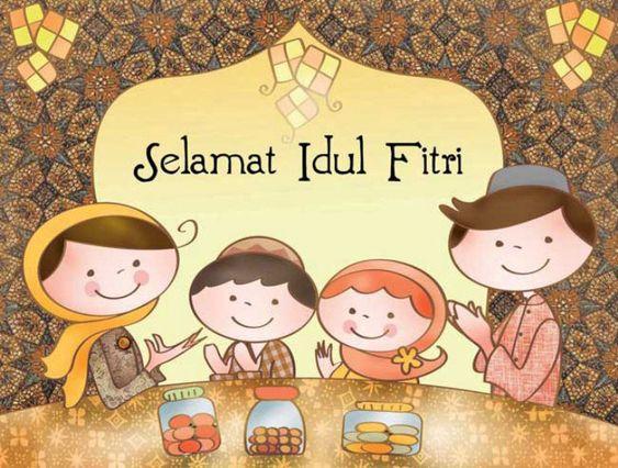 Kumpulan Gambar Contoh Ucapan Selamat Idul Fitri 2019 Beragam