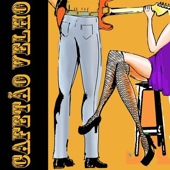 Cover design for Cafetão Velho Blues Band on Behance