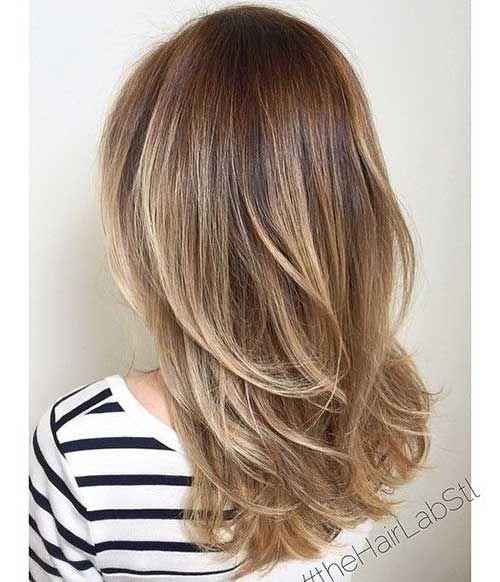 Trendige Mittellange Haarschnitte Mittellanger Haarschnitt Haarschnitt Langhaarfrisuren