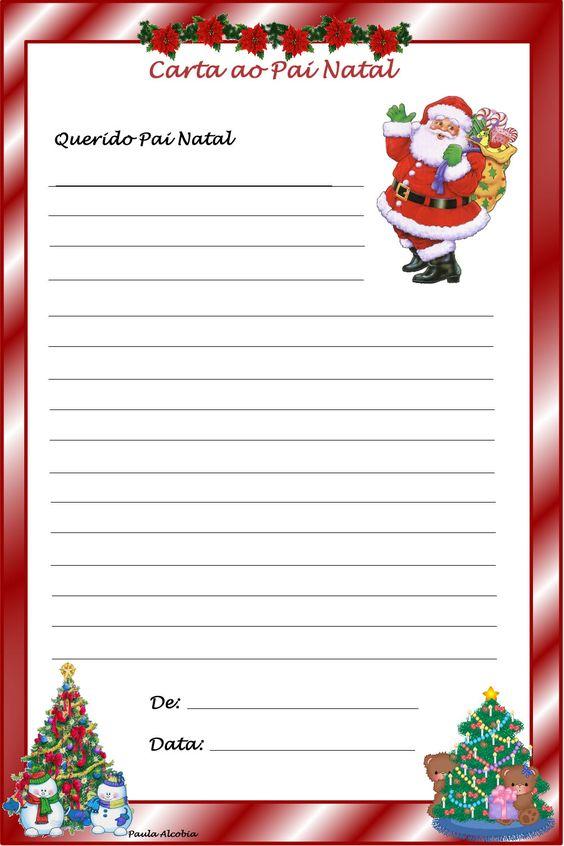 carta para o pai natal - Pesquisa Google: