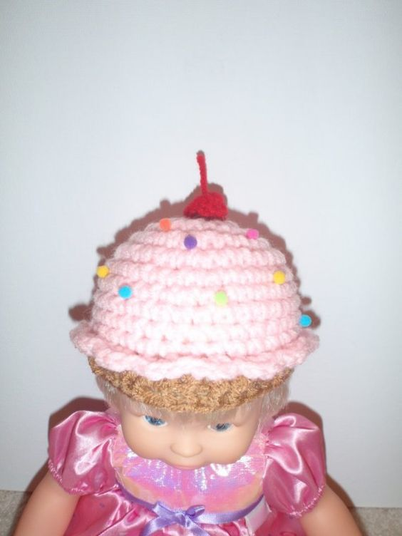 cupcake for doll! Crochet for American Girl Pinterest ...