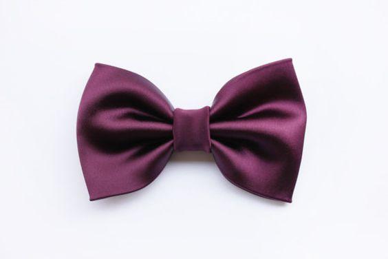 Papillon per uomo viola Prugna Bordeaux Rosso di ScoccaPapillon