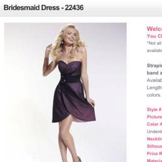 Bridesmaid Dress http://prettybridesmaids.com/Bridesmaid-Dress-22436/