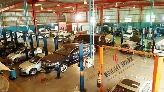 Another busy day at Bright Spark Auto Repairing LLC :)