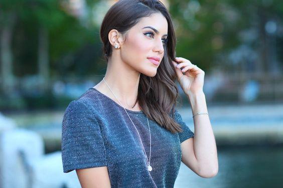 camila coelho night look pandora jewelry: