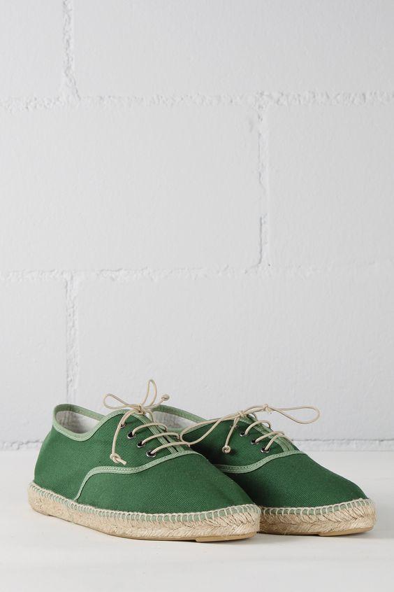 zapato esparto