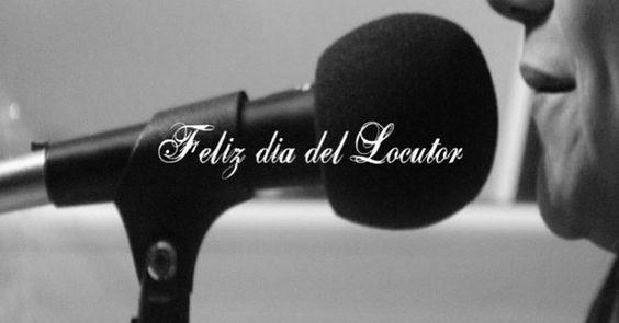 Feliz dia amigos Locutores! Gracias a los que comparten la música #Music #respect
